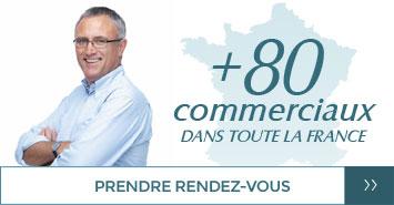 Prendre rendez-vous avec un de nos 80 commerciaux en France