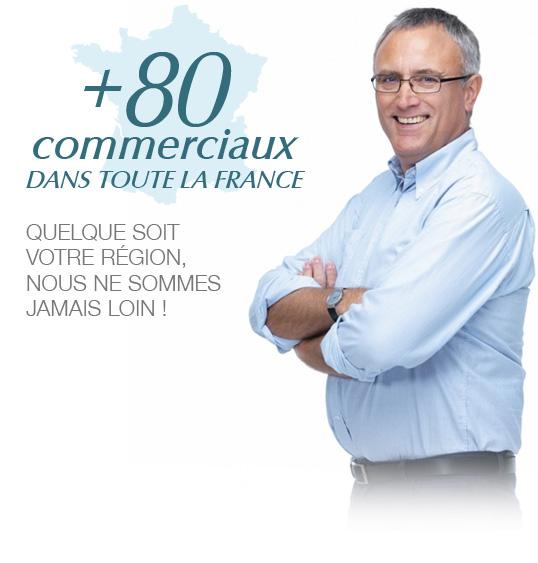 Prise de rendez-vous - nos commerciaux spécialistes en bureautique partout en France