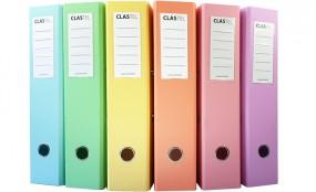 CLASTEL - Classeur pastel - produit de la catégorie classement