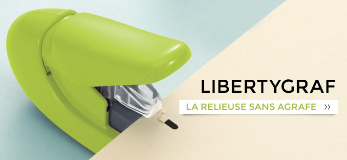 Liberty'graf - Agrafeuse sans agrafe - produit de la catégorie
