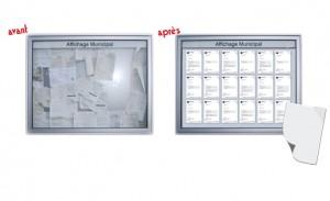 AFFICHAGE - Solutions révolutionnaires ! - produit de la catégorie adhesifs